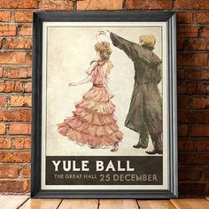 31 Best Harry Potter Gifts for 2019 - Magical Gift Ideas for Harry Potter Fans Harry Potter Gifts, Yule Ball, New Poster, Canvas Frame, Retro Fashion, Picture Frames, Vintage World Maps, Poster Prints, Poster Frames