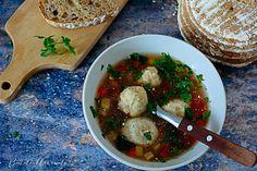 Ciorbă cu perișoare de pește Chicken, Food, Essen, Meals, Yemek, Eten, Cubs