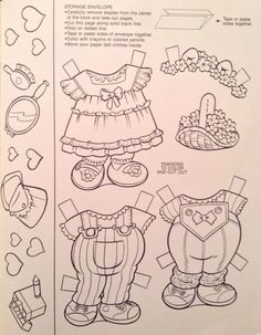 Muppet Babies Deluxe Paper Doll Book Whitman 1991 Uncut 9 Pages Of Clothes