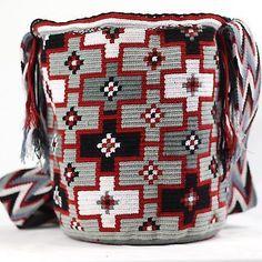 Подлинные Большие WAYUU маленькая сумка 100% колумбийский, богемный Hobo лучших ручной работы 1311