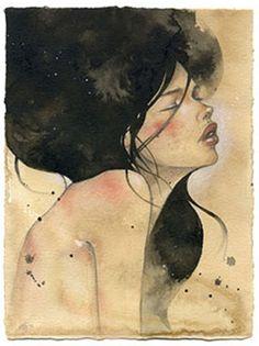 Audrey Kawasaki...I love her work!