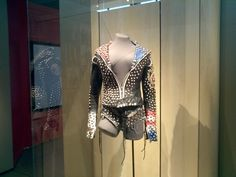 Custom leather jacket worn by Fergie.
