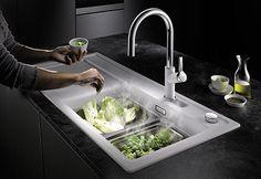 BLANCO ZENAR XL 6 S SteamerPlus Catering, Sink, Kitchen, Home Decor, White People, Sink Tops, Vessel Sink, Cooking, Decoration Home