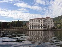 The Borromeo palace on isola Bella STRESA