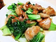 鶏ももとチンゲン菜の簡単中華風炒め by クッキングおっさん政 【クックパッド】 簡単おいしいみんなのレシピが279万品