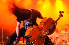 ...music...  (Apocalyptica cellist Perttu Kivilaakso)
