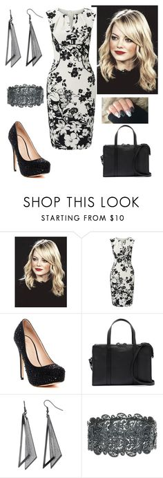 """""""Office Work"""" by paoladouka on Polyvore featuring Adrianna Papell, Lauren Lorraine and Steven Alan"""