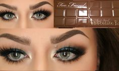 NEW Too Faced Semi Sweet Chocolate Bar Tutorial