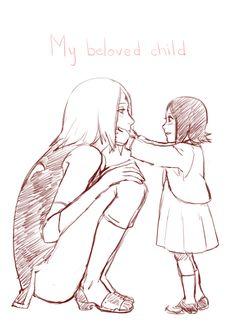 Sakura and Sarada Uchiha #Naruto