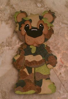 Paper Crafts: Camouflage Panda Bear