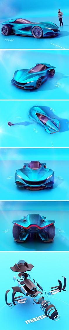 "Named after the Japanese word for ""immersed"", the Mazda Shinshi concept aims to do just that! A stark contrast to the current autonomous movement, it's designed around the driver to create the sense of the vehicle being an extension of the body."