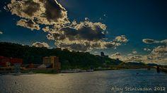 Mt. Washington, Station Square, Monongahela River, Fort Pitt Bridge, West End Bridge, Smithfield St Bridge, Pittsburgh