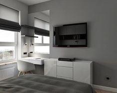 Aranżacje wnętrz - Sypialnia: INTERIOR | Mieszkanie M3 - Warszawa - Średnia sypialnia małżeńska, styl nowoczesny - Manufaktura Projektów. Przeglądaj, dodawaj i zapisuj najlepsze zdjęcia, pomysły i inspiracje designerskie. W bazie mamy już prawie milion fotografii!