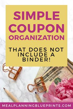 Simple Coupon Organi