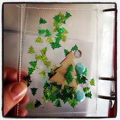 December Daily Glitter pocket for #decemberdaily | Flickr - Photo Sharing!