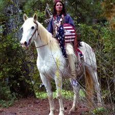Warrrior-on-Horse  (Yaqui Indian art/culture)
