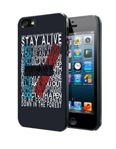 Twenty One Pilots Lyric Samsung Galaxy S3 S4 S5 Note 3 Case, Iphone 4 4S 5 5S 5C Case, Ipod Touch 4 5 Case