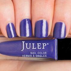 Paula - Persian blue with gold microshimmer