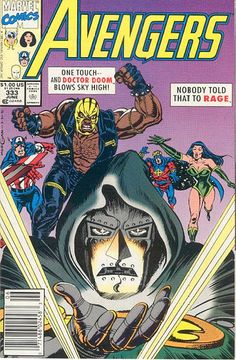 Cover for The Avengers (Marvel, 1963 series) #333 [Direct Edition]