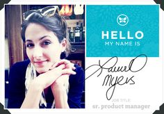 Meet Senior Product Manager Laurel Myers | via The Honest Company blog
