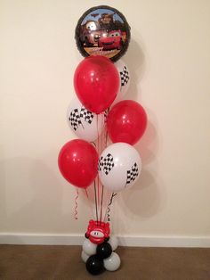 Cars Balloon Decoration by Peter Van The Party Man, via Flickr