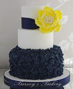 navy blue and yellow birthday cake | Recent Photos The Commons Getty Collection Galleries World Map App ...
