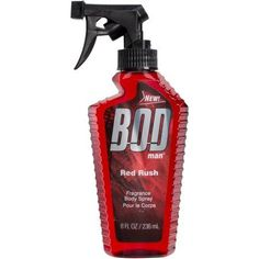 BOD Man Red Rush Body Spray, 8 fl oz