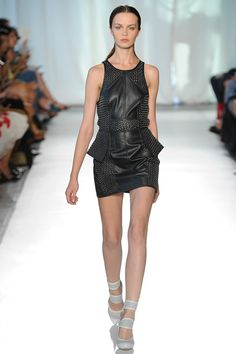 Sass & Bide leather dress Spring 2014