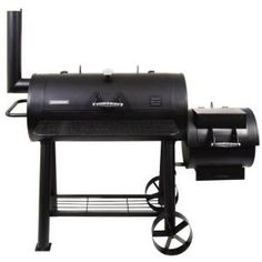 If you can't get a custom-made smoker (I couldn't), this is the best you'll do from Home Depot or Lowes. Solid steel construction. Holds heat. Removable ash pan. And a couple hundred pounds to make you feel sufficiently manly -- or womanly even.