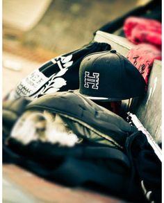 Hyper H Snapback Hat (Black) - Martial Arts Athlete Apparel | Hyper Martial Arts