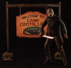 Camp Crystal Lake Sign 8