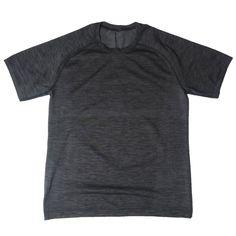 4dfa1f4f9f Lululemon Athletica Mens Gray Metal Vent Tech Crewneck Shirt Size M Running  Gym  Lululemon