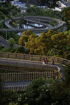 Gallery of China Fuzhou Jin Niu Shan Trans-Urban Connector / LOOK Architects - 3