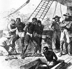 Imagem do transportes dos negros nos navios negreiros. Pesquisa feita por Arthur Dantas 7B G6