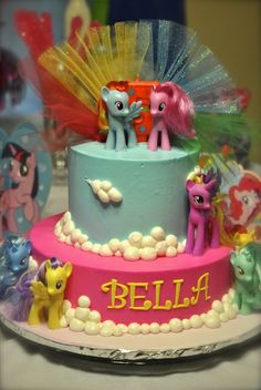 CAN I HAVE THIS MLP CAKE PLASE