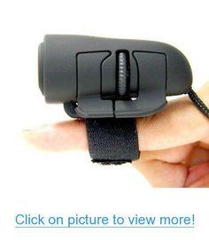 2-button Ergonomic USB 800dpi Optical Finger Mouse