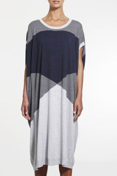 Spirited Dress SS2015 NINETEEN//46 NZ$275 #knitwear #fullyfashioned #summerknitwear #summer #cotton