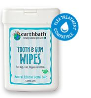 Tooth and Face Wipes for your pooch.  Good grooming on the go!  Stocking stuffers for the dog lover in your family!