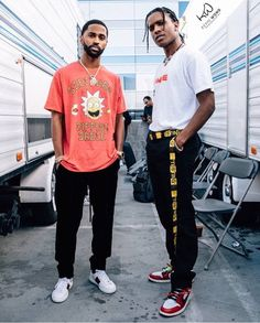 Big Sean x Asap Rocky