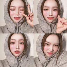 Korean Beauty Girls, Ulzzang Korean Girl, Instagram Pose, Selfie Poses, Dark Skin, Pretty Face, My Girl, Cute Girls, Eye Makeup