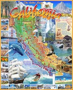 Greetings from the Golden State! Happy new California puzzle from White Mountain.