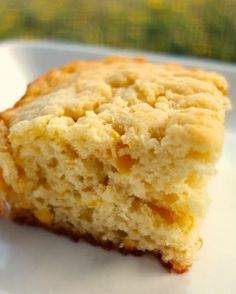 Cream Corn Butter Dips - easy corn bread biscuits that require no kneading or cutting! #MemorialDay Biscuit Bread, Biscuit Recipe, Dip Recipes, Cooking Recipes, Pudding Recipes, Paleo Recipes, Yummy Recipes, Dinner Recipes, Bisquick Recipes