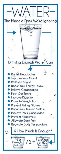 Are you drinking enough water? The health benefits of drinking water are well�