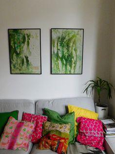 Emily Henson diy art framed