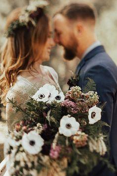 Intimate Bohemian Wedding Inspiration in Yosemite Valley | Randi Kreckman Photography