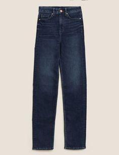 Ladies M/&S Collection Size 8 Medium Straight Leg Jeans