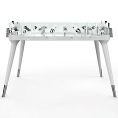 Teckell glass game table offered by BD Collection