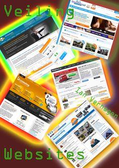 Een Beeld Onderzoek van verschillende veiling websites die als inspiratie kunnen werken.  Het heeft mij niet veel inspiratie gegeven.