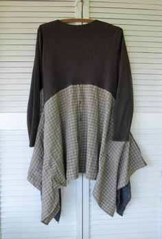 Eco upcycled clothing earthy Bohemian by lillienoradrygoods