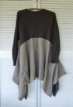 Eco Upcycled Kleidung böhmischen Wearable von lillienoradrygoods